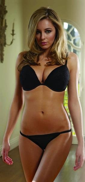 Keeley Hazell in lingerie