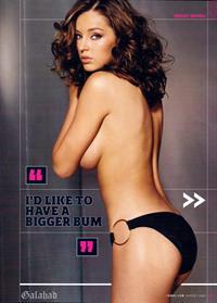 Keeley Hazell in a bikini - ass