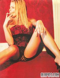 Jaime Pressly in lingerie