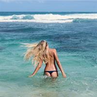 Isabell Klem in a bikini - ass