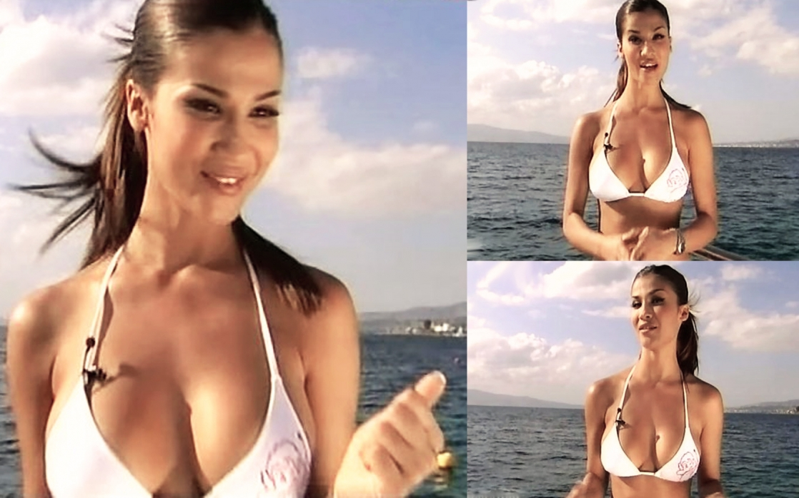 Francesca Lodo in a bikini