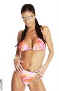 Helena Karel in a bikini