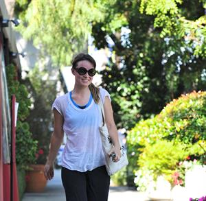 Olivia Wilde leaving a gym in Los Angeles on June 12, 2011