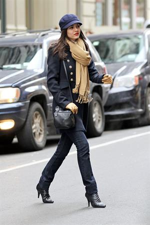 Victoria Justice out and about in NYC 2/7/13