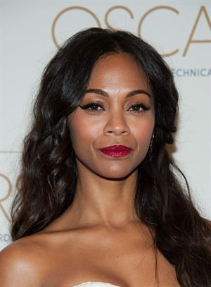 Zoe Saldana Academy Of Motion Picture Arts And Sciences' Scientific & Technical Awards February 9, 2013
