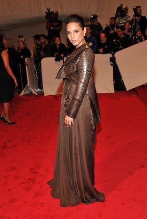 Alicia Keys Metropolitan Museum of Art Costume Institute Benefit on May 2, 2011