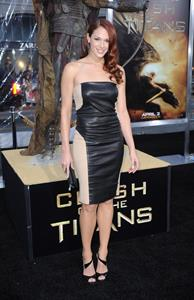 Amanda Righetti attends the LA premiere of Clash of the Titans at Graumans Chinese Theatre on March 31, 2010