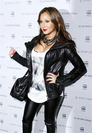 Adrienne Bailon at G Star Raw Fall/Winter 2010 fashion show in New York City February 16, 2010