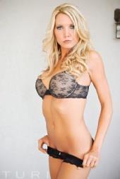 Rachel Lynn in lingerie