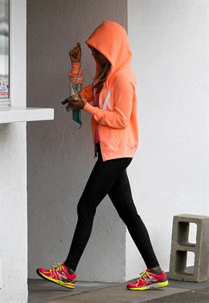 Ashley Tisdale out and about in LA 11/28/12