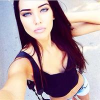 Dasha Dereviankina taking a selfie