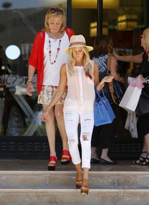 Ashley Tisdale shopping at Barneys NY in Beverly Hills on May 14, 2012