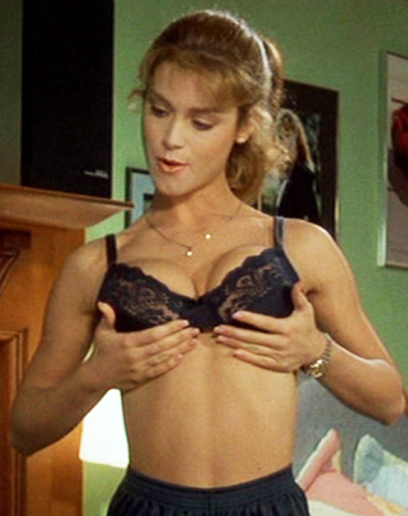Betsy Russell in lingerie