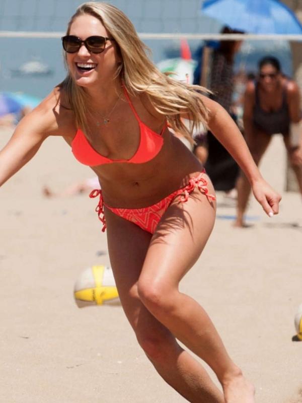 Ciara Hanna in a bikini