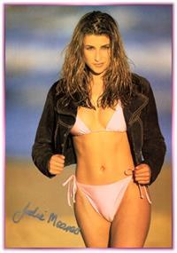 Jodhi Meares in a bikini