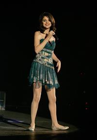 Selena Gomez Hammersmith Apollo concert in London, England on October 20, 2010