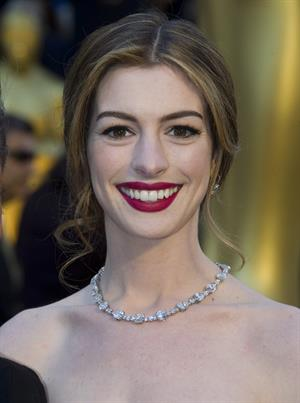 Anne Hathaway 83rd annual Academy Awards in Hollywood on February 27, 2011