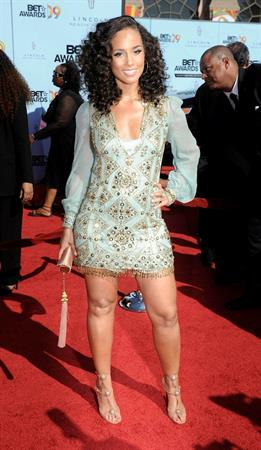 Alicia Keys 2009 bet awards held at the shrine auditorium los angeles california