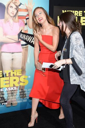 Olivia Wilde  We're The Millers  New York Premiere on Aug. 1, 2013