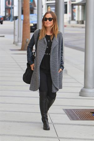 Olivia Wilde in Beverly Hills on October 29, 2013