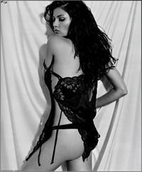 Natassia Malthe in lingerie