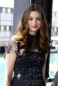 Anne Hathaway press conference at Welsh Bay in Sydney on December 6, 2010