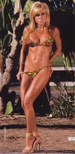 Terri Runnels in a bikini