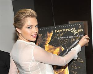 Kate Upton  'Everything or Nothing: The Untold Story of 007' premiere in New York 10/3/12