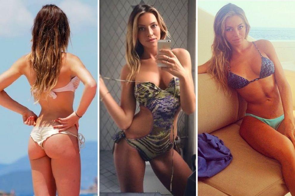 Alessia Tedeschi in a bikini - ass