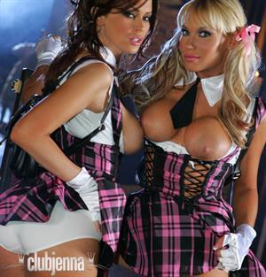 Jenna Jameson and Ashton Moore as Naughty Schoolgirls