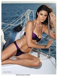 Jenna Pietersen in a bikini