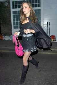 Kate Middleton as a witch for Halloween