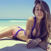 Galinka Mirgaeva in a bikini
