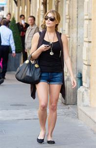 Ashley Greene in Paris on September 4, 2010
