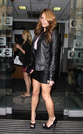 Ashley Greene outside BBC Radio One in London on July 1, 2010