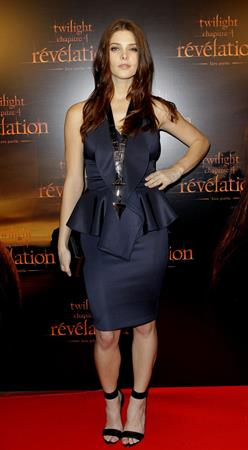 Ashley Greene Twilight Chapter 4 Revelation Premiere in Paris, France on October 23, 2011