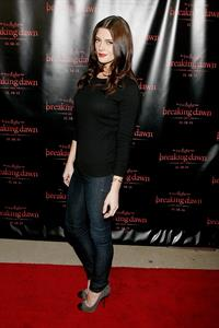 Ashley Greene Twilight Saga Breaking Dawn concert tour in Dallas on Nov 9, 2011