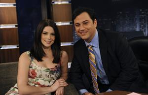 Ashley Greene Jimmy Kimmel Live Show