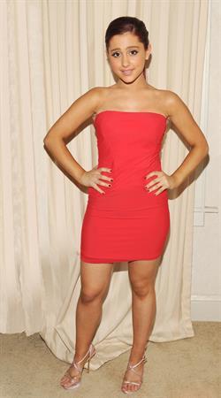 Ariana Grande candids on August 9, 2011