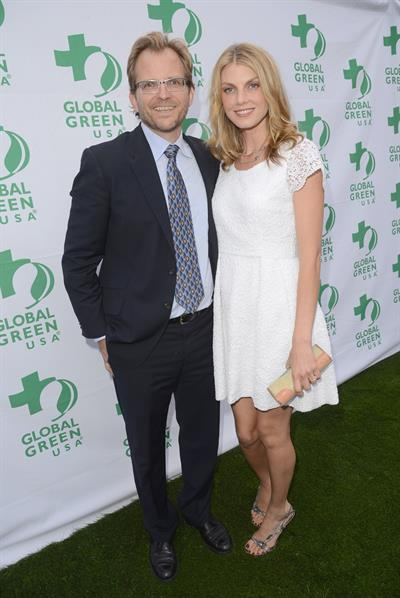 Angela Lindvall 16th annual Global Green USA Millennium Awards on Jun 2, 2012