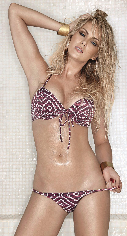 Ana Hickmann in a bikini