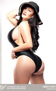 Amber Priddy in a bikini - ass