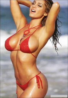 Theresa Correa in a bikini