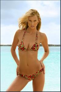 Brooke Buchanan in a bikini