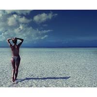 Martha Hunt in a bikini - ass