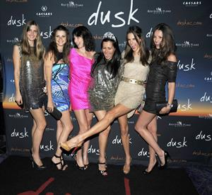 Alessandra Ambrosio Dusks one year anniversary party in Atlantic City June 19, 2010
