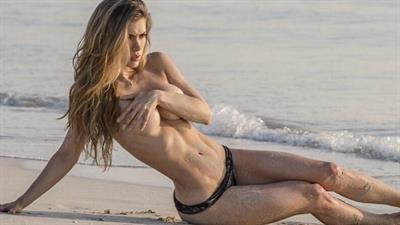 Anllela Sagra in a bikini