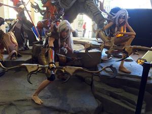 Lyz Brickley as Thorn from Battleborn