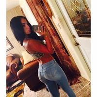 Bruna Lima taking a selfie and - ass