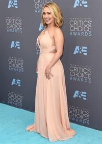 Hayden Panettiere at the 21st annual critics' choice awards
